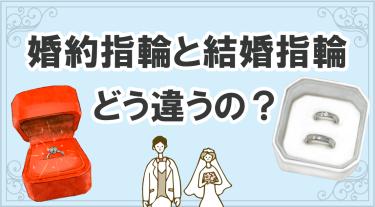 婚約指輪と結婚指輪の歴史やそれぞれの違いについて解説!