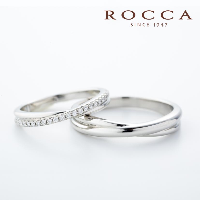 【ROCCA】シンプルで仕事中も着けやすいマリッジリング