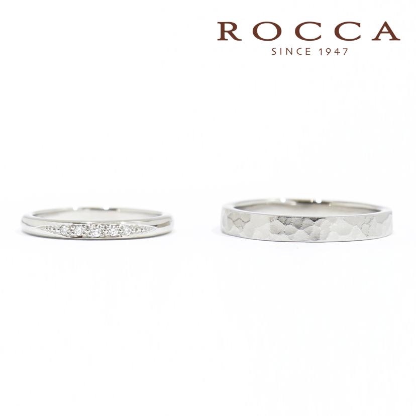 【ROCCA】重ね付けにもぴったり!シンプルマリッジリング