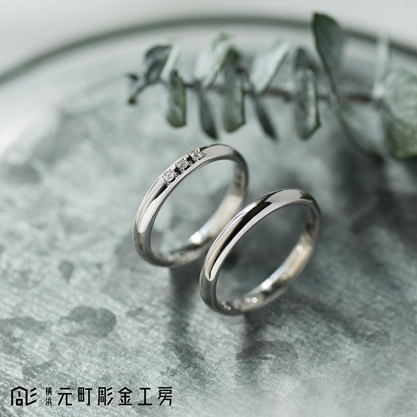 【ふたりでつくる 結婚指輪⑧】
