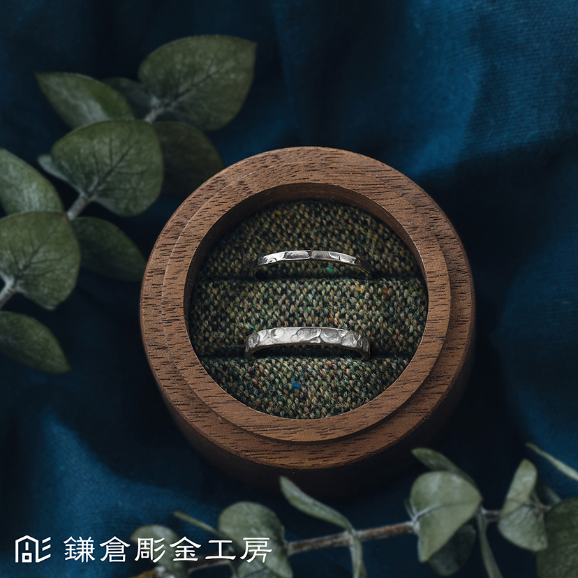 【ふたりでつくる 結婚指輪⑨】