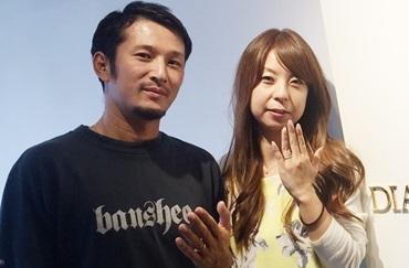 前田高志様&山勢友美子様