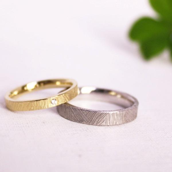 手作り結婚指輪1