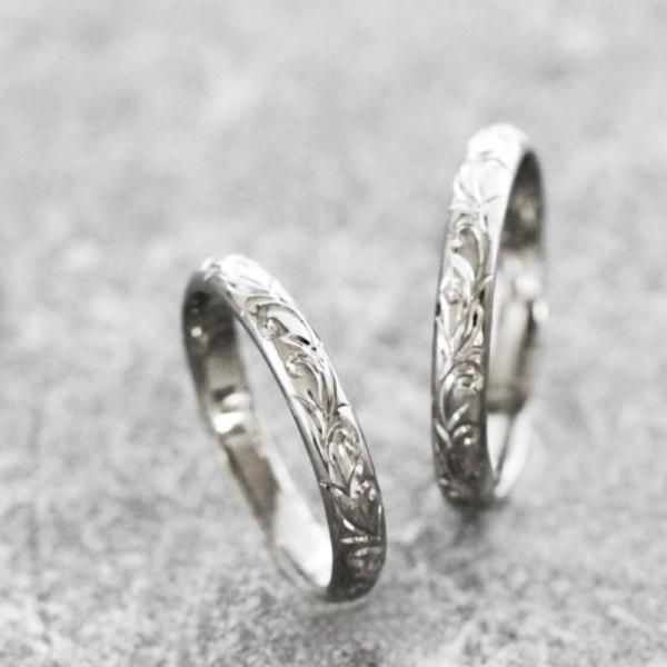 手作り結婚指輪9