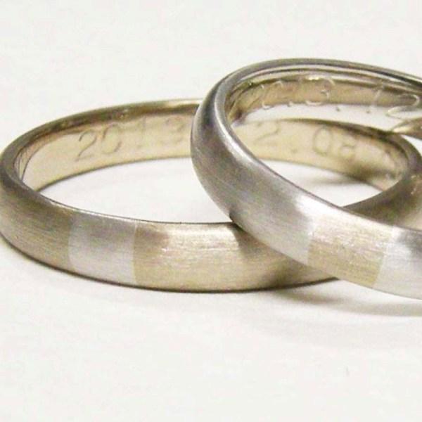 手作り結婚指輪10