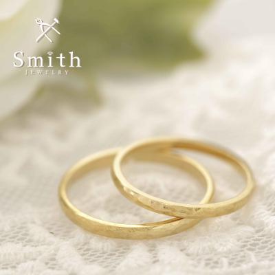 """【Smith】""""日帰りコース""""手作り結婚指輪 ぬくもりを感じる質感が素敵!"""