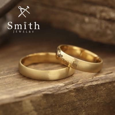 【Smith】手作り結婚指輪 ゴールドだからこそのぬくもり感!が素敵です